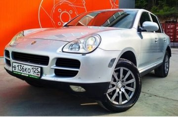 "<span style=""font-weight: bold;"">PORSCHE CAYENNE S 4WD </span>"